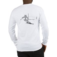 Snow Ski Long Sleeve T-Shirt