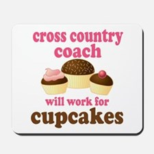 Funny Cross Country Coach Mousepad