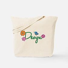 Devyn Flowers Tote Bag