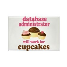 Funny Database Administrator Rectangle Magnet
