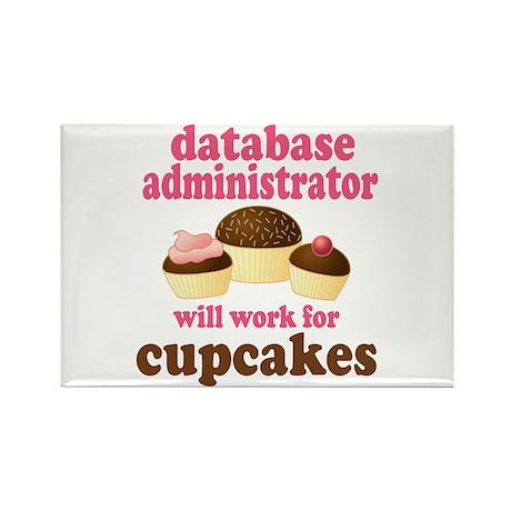 Funny Database Administrator Rectangle Magnet