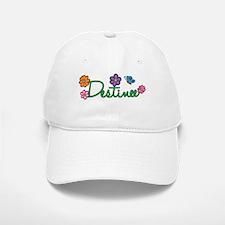 Destinee Flowers Baseball Baseball Cap