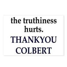 Thankyou Colbert Postcards (Package of 8)