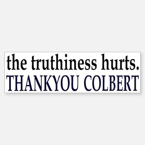 Thankyou Colbert Bumper Bumper Bumper Sticker