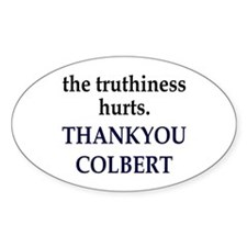 Thankyou Colbert Oval Decal