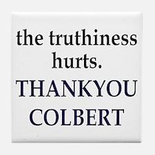 Thankyou Colbert Tile Coaster