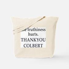 Thankyou Colbert Tote Bag