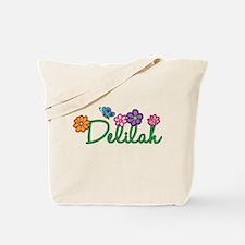 Delilah Flowers Tote Bag