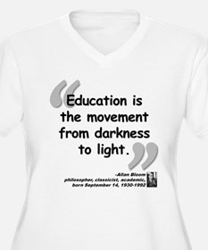 Bloom Education Quote T-Shirt