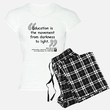 Bloom Education Quote Pajamas