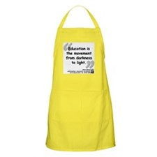 Bloom Education Quote Apron