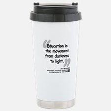 Bloom Education Quote Travel Mug