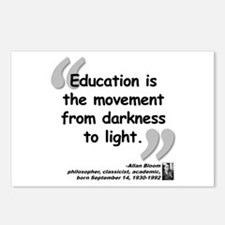 Bloom Education Quote Postcards (Package of 8)