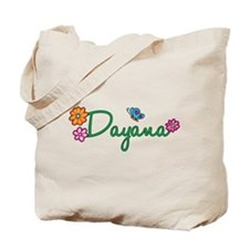 Dayana Flowers Tote Bag