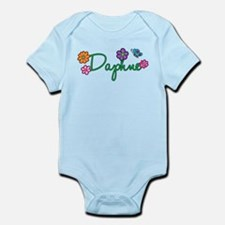 Daphne Flowers Infant Bodysuit