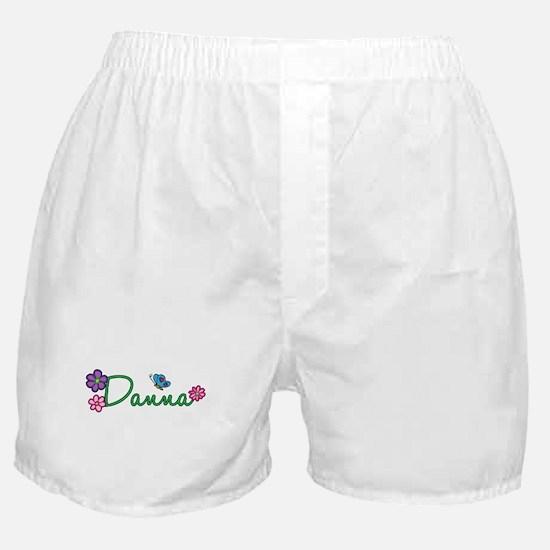 Danna Flowers Boxer Shorts