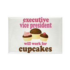 Funny Executive Vice President Rectangle Magnet