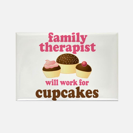 Funny Family Therapist Rectangle Magnet