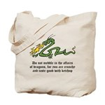 Dragon Affairs Tote Bag