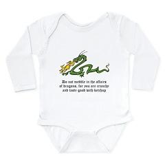 Dragon Affairs Long Sleeve Infant Bodysuit