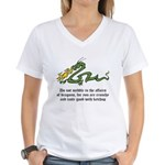 Dragon Affairs Women's V-Neck T-Shirt