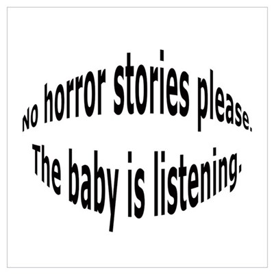 No horror birth stories Poster
