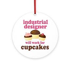 Funny Industrial Designer Ornament (Round)