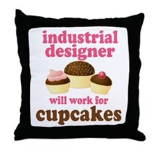 Funny Industrial Designer Throw Pillow