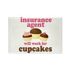 Funny Insurance Agent Rectangle Magnet