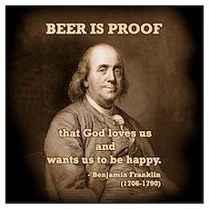 Ben on Beer Poster