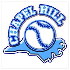 Chapel Hill Baseball Poster