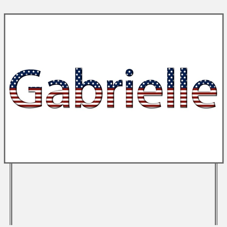 Gabrielle Stars and Stripes Yard Sign
