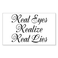 Real Eyes Decal
