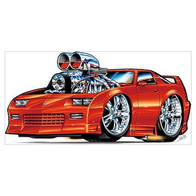 Third Generation Camaro Poster