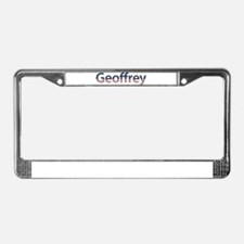 Geoffrey Stars and Stripes License Plate Frame