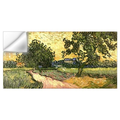 Van Gogh Castle of Auvers Wall Decal