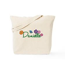 Danielle Flowers Tote Bag