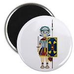 "Cute Roman Gladiator 2.25"" Magnet (100 Pk)"