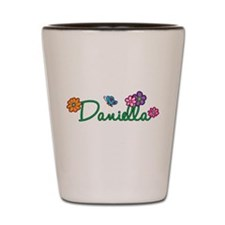 Daniella Flowers Shot Glass