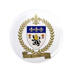 """COTREAU Family Crest 3.5"""" Button (100 pack)"""