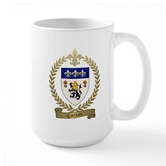 COTREAU Family Crest Large Mug