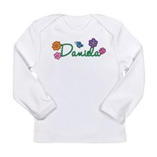 Daniela Flowers Long Sleeve Infant T-Shirt
