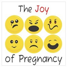 Joy of Pregnancy Framed Print