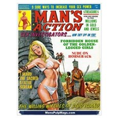 MAN'S ACTION, June 1969 Framed Print