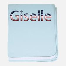 Giselle Stars and Stripes baby blanket