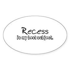 Recess Decal