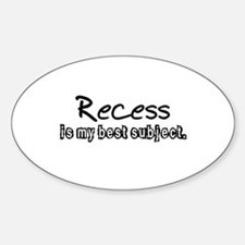 Recess Decal