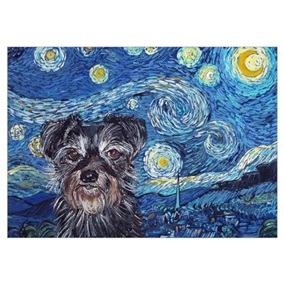 """Starry Night Cruiser"" Poster"