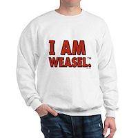 I Am Weasel Logo Sweatshirt