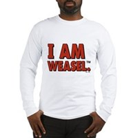 I Am Weasel Logo Long Sleeve T-Shirt